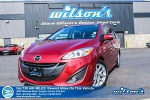 2017 Mazda Mazda5 | AUTO | LEATHER | SUNROOF | HEATED SEATS | BL