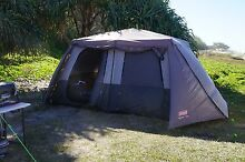 COLEMAN 10P INSTANT UP FULL FLY TENT Kallangur Pine Rivers Area Preview