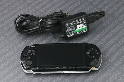 Sony PSP 3001 Playstation Portable Black System