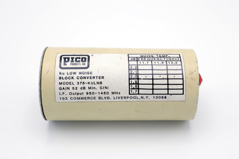 Pico Ku Low Noise Block Converter 375-KULNB FREE SHIPPING