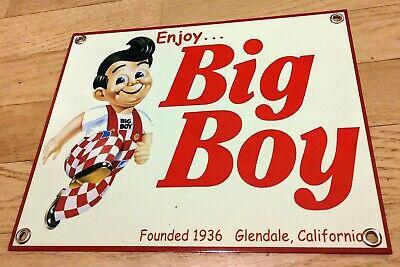 Nostalgia Sign Bobs Big Boy Fast Food Restaurant Shoneys
