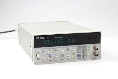 Hpagilent 33120a Function Arbitrary Waveform Generator 15 Mhz