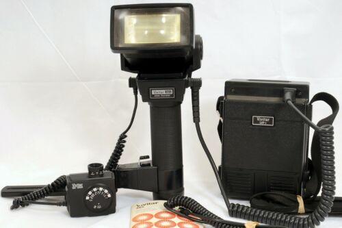 Vivitar 365 Thyristor Bounce Flash, LVP-1 Pack, Vari Sensor and cables