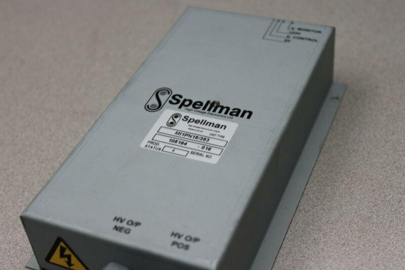 High Voltage Electronics Spellman Mi1pn15/353 Power Supply F/ Ultima Mass Spec