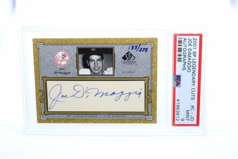 Graded Gem Mint 10 1980 Joe Dimaggio TCMA G.M.A