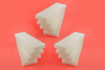 12 x Foam Filter Pads to fit Fluval 204 205 206 External Canister Filter