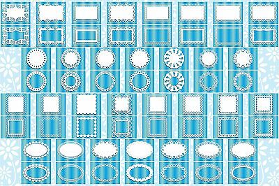 Brother ScanNCut Layer & Frame templates  CD1023