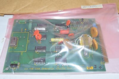 New Hathway Instruments 8518701 Rev. J 255 Time Code Generator Pcb Circuit Board