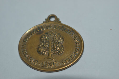 Vintage 1897 National Congress of Parents & Teachers Pin Award Medal