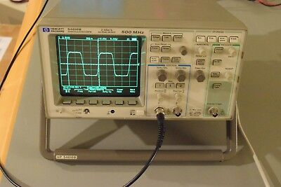 Agilent Hp 54616b Digital Oscilloscope 500mhz 2gss Option 005 Vertical Output