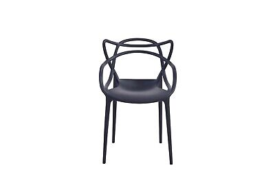 4x Masters Style Arm Chair Dining Chairs kitchen Retro Stack able outdoor Use