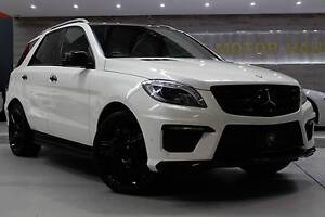 2012 Mercedes-Benz ML Wagon Wetherill Park Fairfield Area Preview