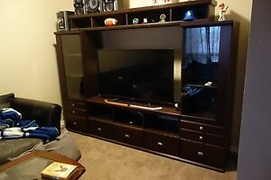 Beautiful Solid Wood Entertainment Unit 1/2 price!