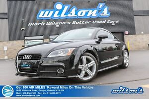 2015 Audi TT 2.0T | NAVIGATION | LEATHER | HEATED + POWER SEATS