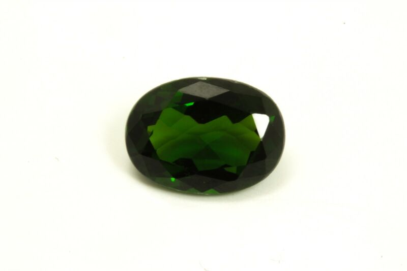 Fine Estate 2.73ct Chrome Diopside Loose Natural Gemstone Oval Cut House of Onyx