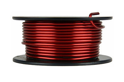 Temco Magnet Wire 10 Awg Gauge Enameled Copper 8oz 155c 16ft Coil Winding