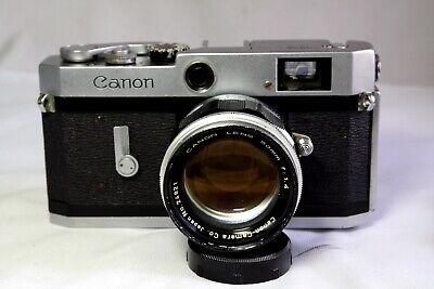 Canon P RF w/ 50mm f1.4 m39 ltm lens full mechanical film camera