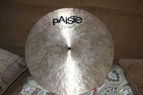 "Paiste Prototype 16"" Medium Crash Cymbal"