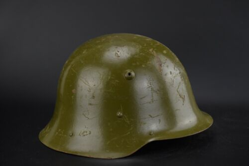 WWII BULGARIAN M36 CAMO HELMET STAHLHELM GERMAN TYPE WW2