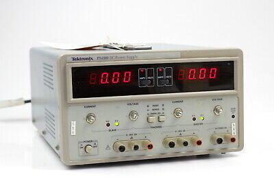Tektronix Ps280 Dc Triple Outlet Power Supply 0-30vdc 2a5v 3a 3