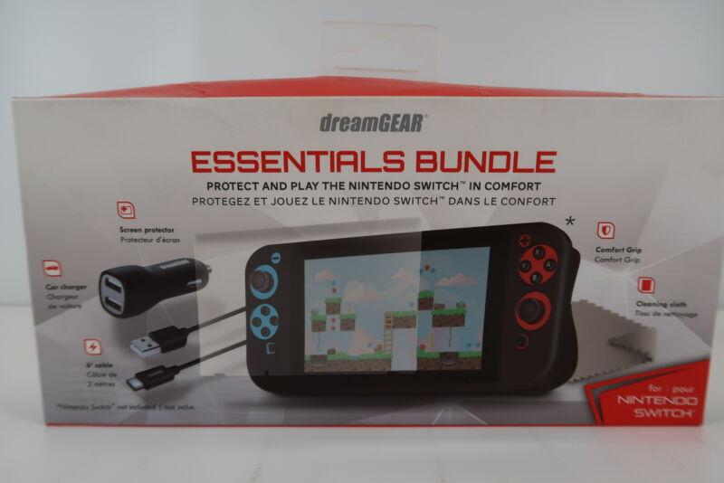 dreamGEAR Essentials Bundle for Nintendo Switch