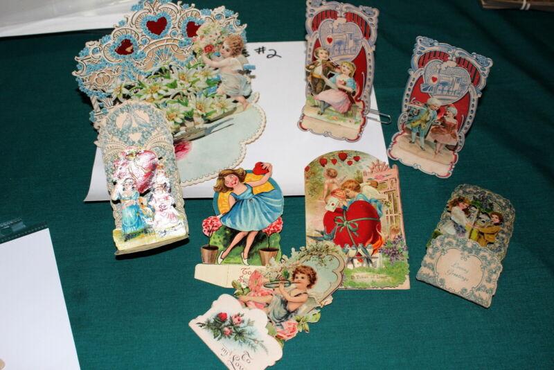 #7209,Large Collection Vintage Valentines