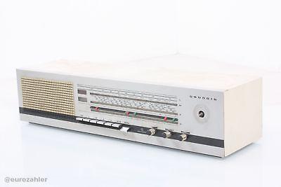 Grundig RF 2160 Stereo Alltransistor AM / FM Radio weiß Vintage ohne 2. Lauts...