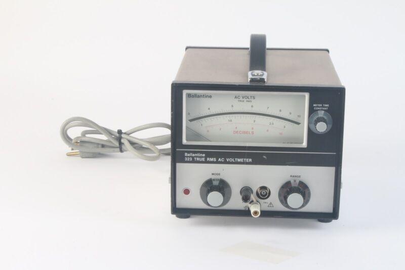 Ballantine 323 Wideband True RMS AC Analog Voltmeter