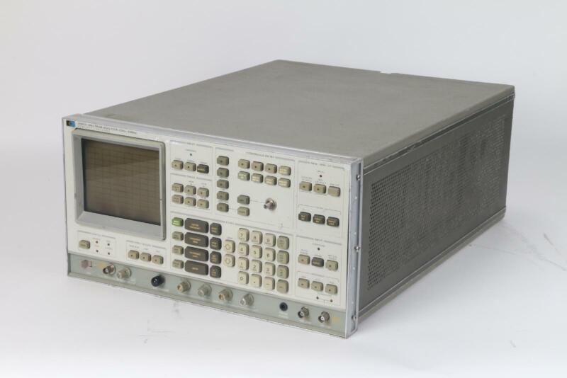HP Agilent Keysight 3585A Spectrum Analyzer - Missing Knobs