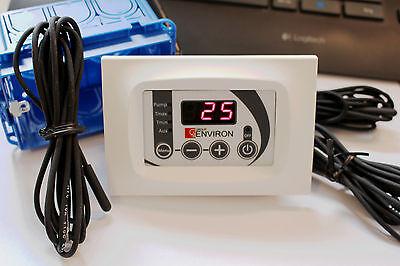 Temperaturdifferenzregler Steuerung Ladepumpe Pufferspeicher Regler