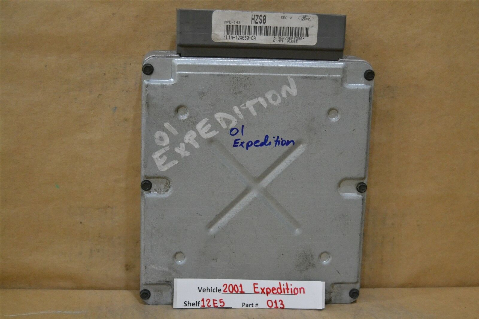 2001 Ford Expedition Engine Control Unit ECU 1L1A12A650CA Module 13 12E5