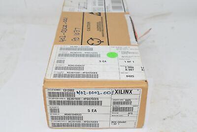 Box Of 5 New Xilinx Xc3s1500-4fg676ces Integrated Circuits Ic Fpga 487 Io 676fc