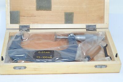 New Abs 75-100mm Gear Tooth Disc Micrometer Pt 200-225-1