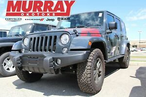 2017 Jeep WRANGLER UNLIMITED * UCONNECT! HEATED SEATS! REMOTE ST