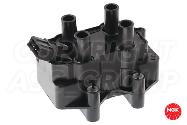 New NGK Ignition Coil For PEUGEOT 306 1.6 Saloon 1994-97