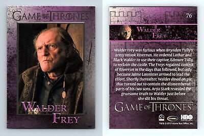 Walder Frey #76 Game Of Thrones Season 6 Rittenhouse 2017 Trading Card