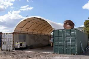 High-quality Container Dome Shelter 20x20ft (No Welding Required)