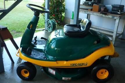 yard man ride on lawnmower by MTD