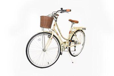 "Classic 18"" Ladies Heritage stylish Retro 26"" wheel 6 Speed Girls Bike Cycle"