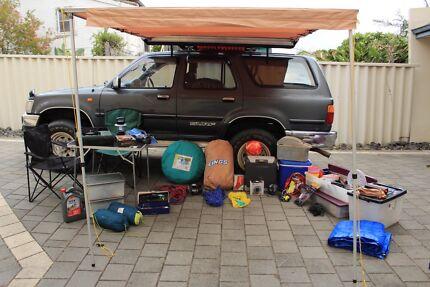 4X4 Toyota Hilux Surf 1994 3.0 Turbo Diesel, Full camping gear