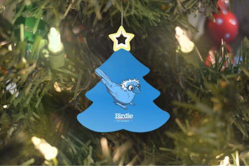Bernie Sanders BIRDIE Christmas Tree Ornament