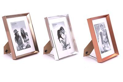 Decoration Picture Frame Silver, Gold Or Copper (4x6 Gold Frames)