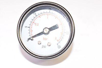 New Fisher 0-30 Psi Pressure Gauge 38