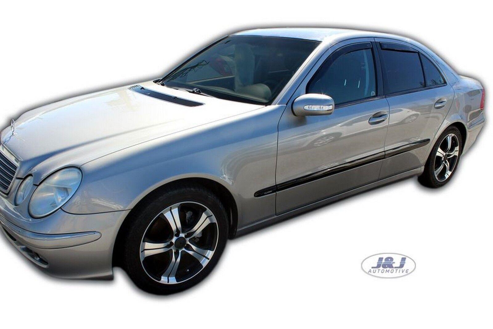 Wind Deflectors Compatible With Mercedes E Class W211 5 Doors Estate 4pc Vehicle Parts Accessories Car Parts