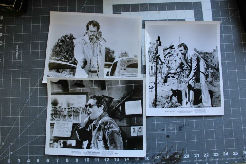 Warren Oates Bring Me The Head Of Alfredo Garcia Original 8x10 Lot Peckinpah 1/3