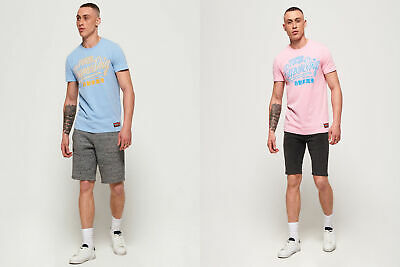 Superdry Mens Ticket Type Pastel T-Shirt