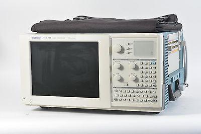 Tektronix Tla 714 Portable Logic Analyzer Mainframe 1x Tla 7p4