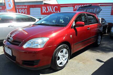2005 Toyota Corolla Hatchback Seca Manual