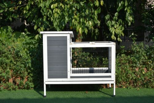 GiantWood Wooden Rabbit&Small Animals hutch and coop