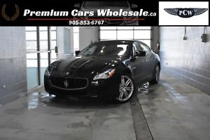 2015 Maserati Quattroporte ONLY 13000 KMS! QUATTROP S Q4 AWD FUL